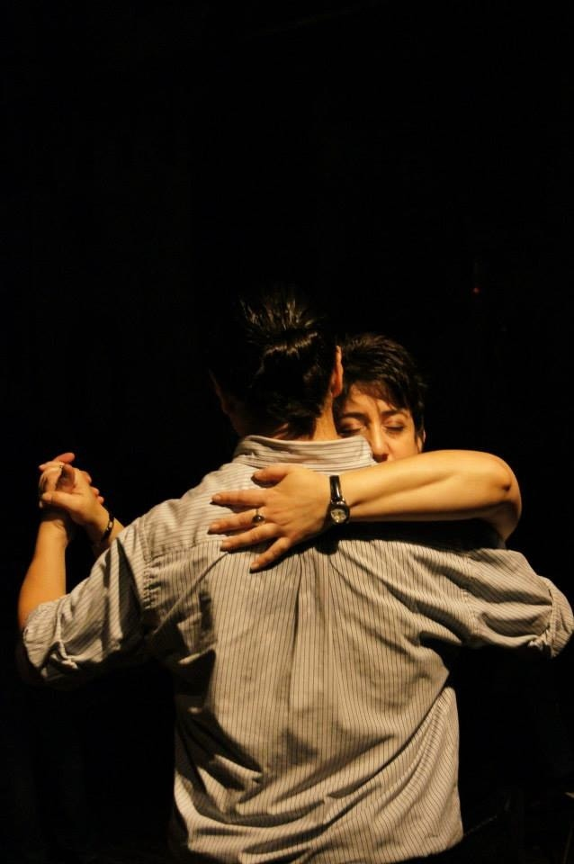 The passion of the embrace. Tango Vacation Buenos Aires